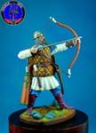 Лучник овгородского ополчения 1242 г