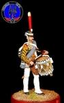 Барабанщик гвардейских пехотных полков 1812 г.Россия