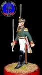 Офицер гвардейских пехотных полков 1812 г.Россия