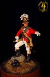 Офицер конной артиллерии. 1794 г. Россия.