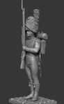 Карабинер батальона Невшатель 1810-12 гг