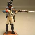 Рядовой Гвардейских Егерей,стреляющий
