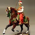 Офицер-мамелюк на коне