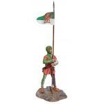 Валлийский лучник с флагом