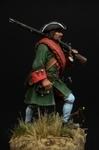 Фузилер пехотного полка Россия 1709-20 гг