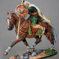 Араб на коне с пикой