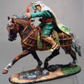 Араб на коне с луком