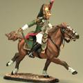 Драгун-офицер на коне