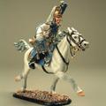 Трубач на коне (в парадной униформе)