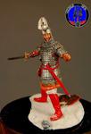 Знатный дружиник войска Александра Невского 1242 г