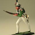 Бегущий гренадер Преображенского полка