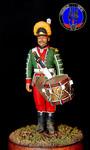 Барабанщик мушкетерского полка Россия 1786-1796 гг
