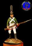 Рядовой пехотного полка Россия 1805 г