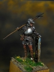 Европейский солдат с алебардой 1510-25 гг