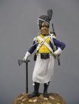 Польский сапер легиона Висла 1808-13 гг