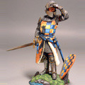 Европейский пеший рыцарь с забралом