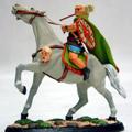 Германский вождь племени Макраманов/Квадров (на коне) 1-2 век н.э.