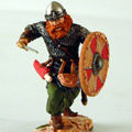 Викинг с мечом 10 в.н.э.