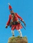 Русский гренадер армейских пехотных полков 1709-15 гг