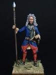 Шведский офицер армейских пехотных полков 1700-21 гг