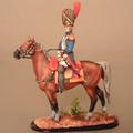 Командир пешей гвардии гренадеров, конный