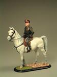 Бенито Муссолини на коне