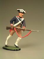 Мушкетёр, бегущий с ружьём. 20 полк