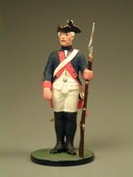 Мушкетёр с ружьём. 20 пехотный полк