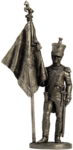 Офицер-знаменосец 5-го линейного полка.Неаполь
