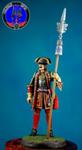 Обер-офицер Лейб-Гвардейского Преображенского полка 1704-12 гг