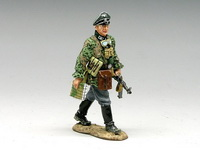 Войска СС Marching Waffen-SS Officer