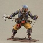 Пират с абордажным крюком