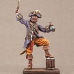 Пират с бутылкой