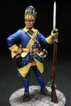 Шведский гренадер полка Миллина 1700-05 гг