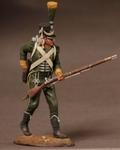 Вестфальский егерь Королевской гвардии 1809-11 гг
