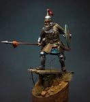 Татаро-монгольский воин с копьем 14 в.