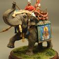 Свадебный кортеж на слоне