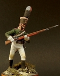 Унтер офицер пехотных полков Россия 1805 г