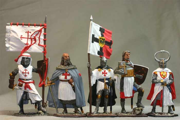 Наборы оловянных солдатиков полуколлекционного покраса