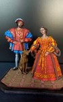 Франциск 1 и Клод . Французская династия Валуа 1514 г