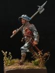 Европейский алебардщик 1460-75 гг