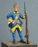 Шведский гренадер полка Меллина 1700-05 гг