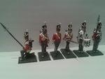 Эпоха Наполеоновских войн  Англичане \ 6 фигурок \