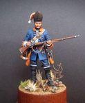Гренадер пехотных полков.Королевство Сардиния 1741-47 гг