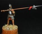 Испанский солдат с алебардой 1550-90 гг