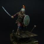 Татаро-монгольский воин с мечом 14 в.