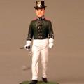 Унтер-офицер гвардейского экипажа 1812 г. В летней парадной форме