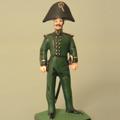 Обер-офицер гвардейского экипажа 1812 г. В парадной зимней форме.
