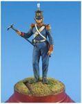 Шведский мушкетер пехотного полка 1708-21 гг