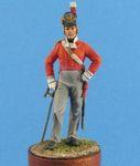 Британский офицер пехотных полков, 1812-15 гг.
